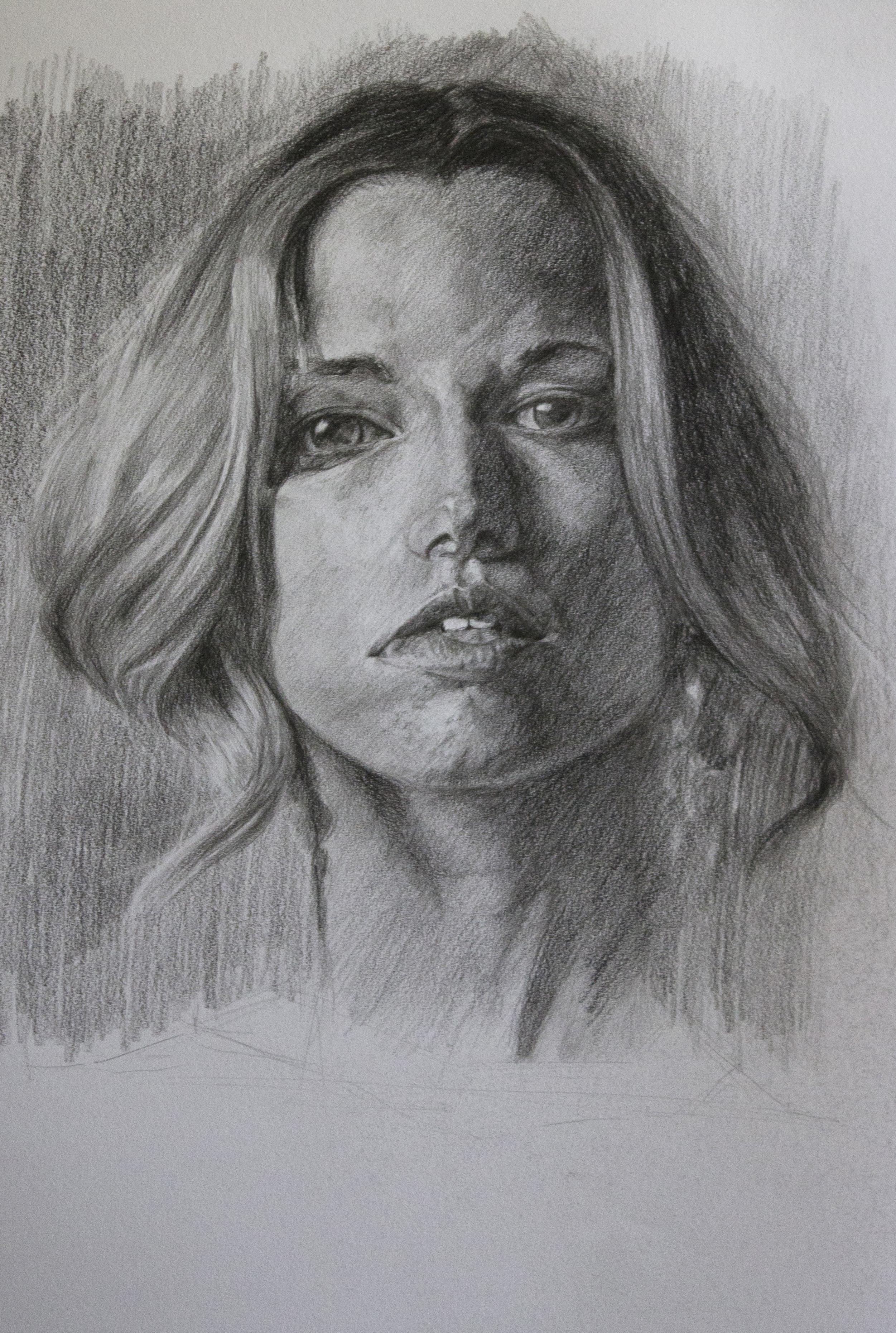 Comment dessiner un portrait académique?