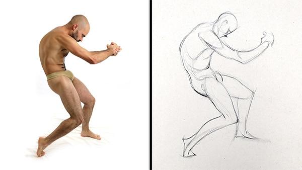 Comment dessiner le geste?