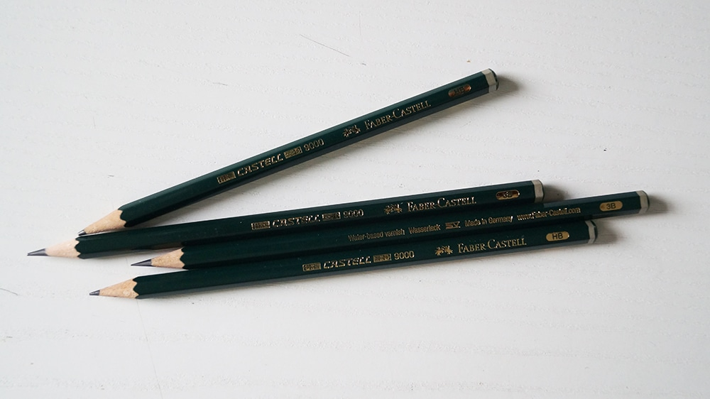 crayon à papier faber castell