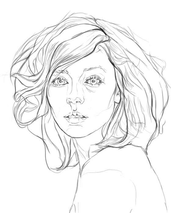 Comment Dessiner Un Visage De Femme Artcademy Atelier