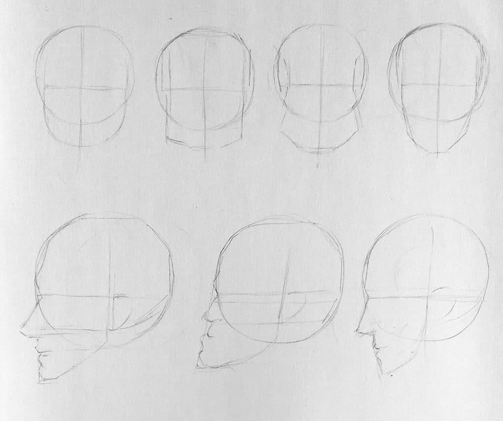 Comment dessiner différents type de visage dessin de caricature, dessin de portrait avec des différents type de visages. https://artcademyatelier.fr/comment-dessiner-un-visage-de-face/ petite bouche, grandes bouche, grosse tête, fine tête. dessin de croquis, dessin de visage.  https://artcademyatelier.fr/comment-dessiner-un-visage-de-profil/