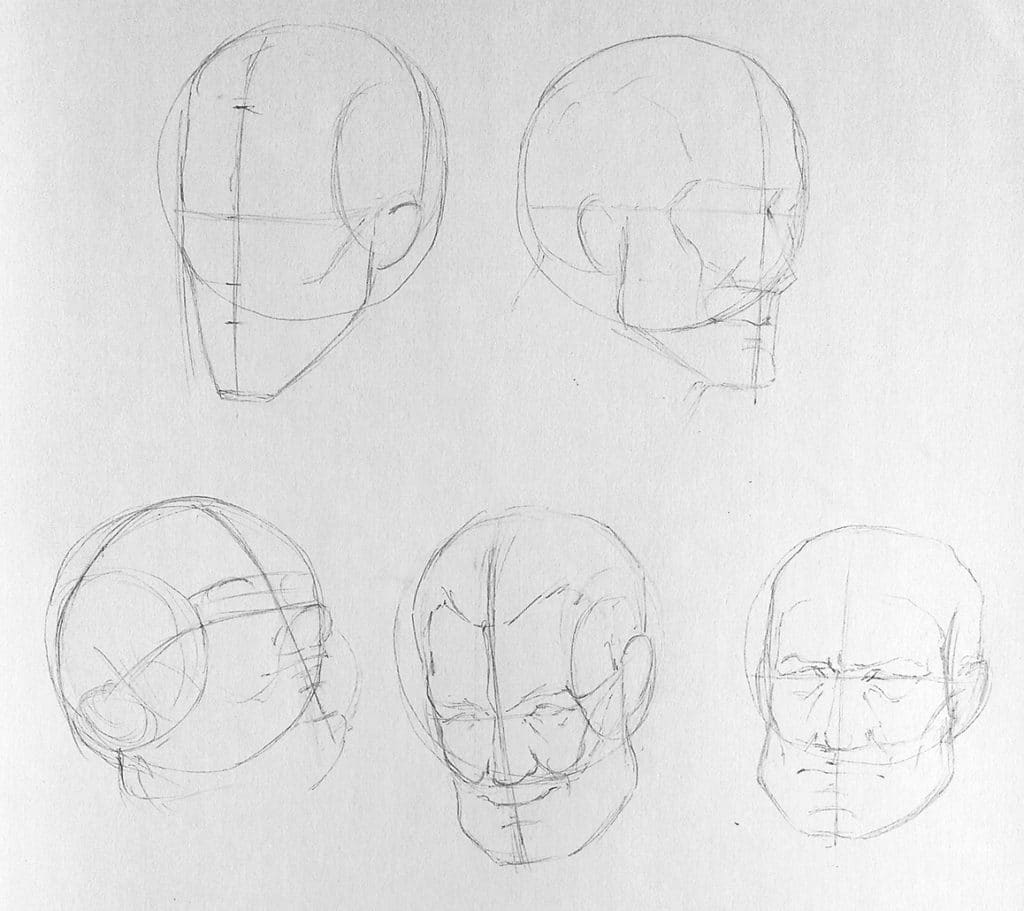 Comment dessiner différents type de visage dessin de caricature, dessin de portrait avec des différents type de visages. https://artcademyatelier.fr/comment-dessiner-un-visage-de-face/ petite bouche, grandes bouche, grosse tête, fine tête. dessin de croquis, dessin de visage.  https://artcademyatelier.fr/comment-dessiner-un-visage-de-profil/  dessiner le visage dans différentes vu, crayon faber castell,