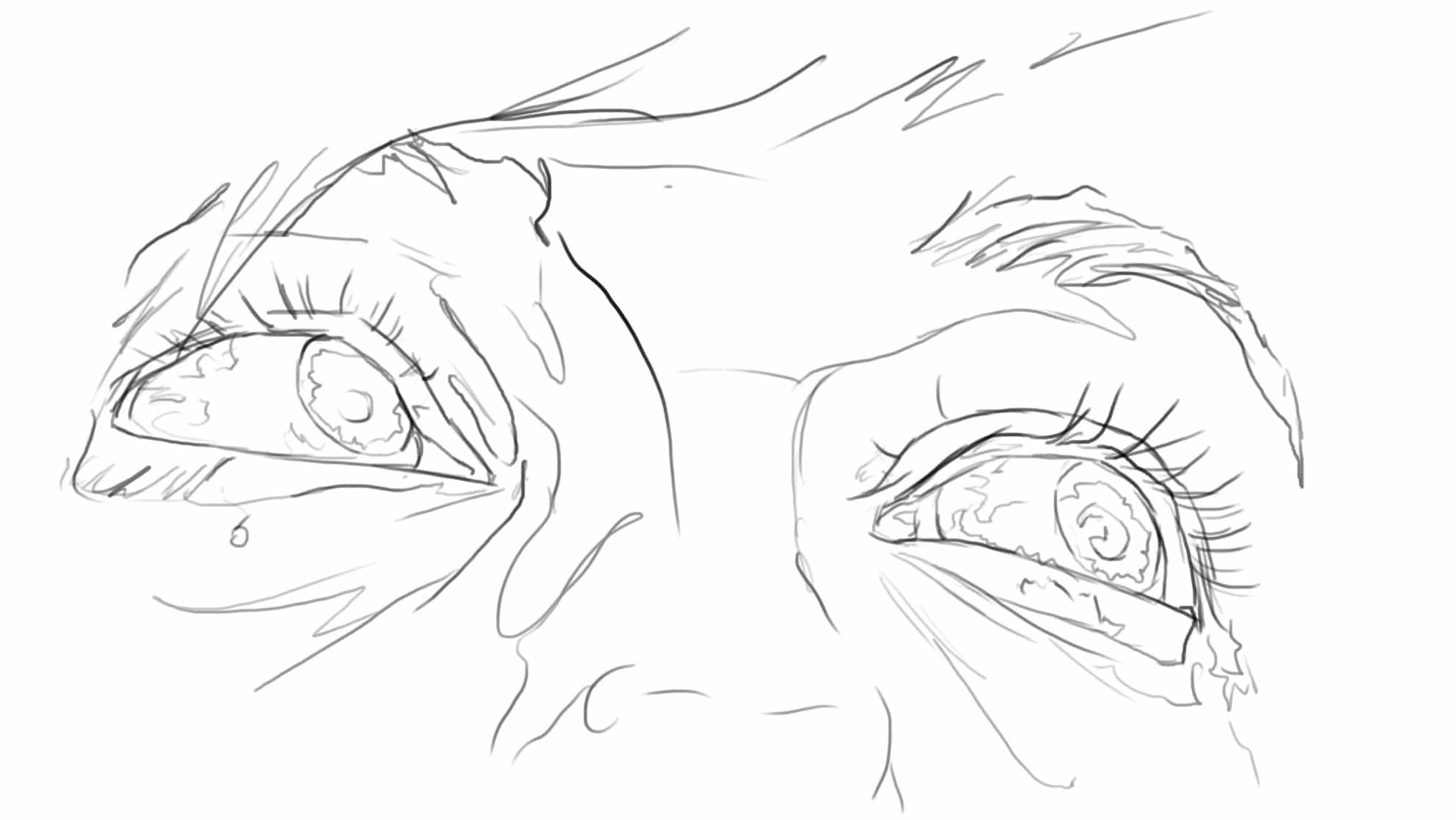 Comment dessiner les yeux en perspective ?