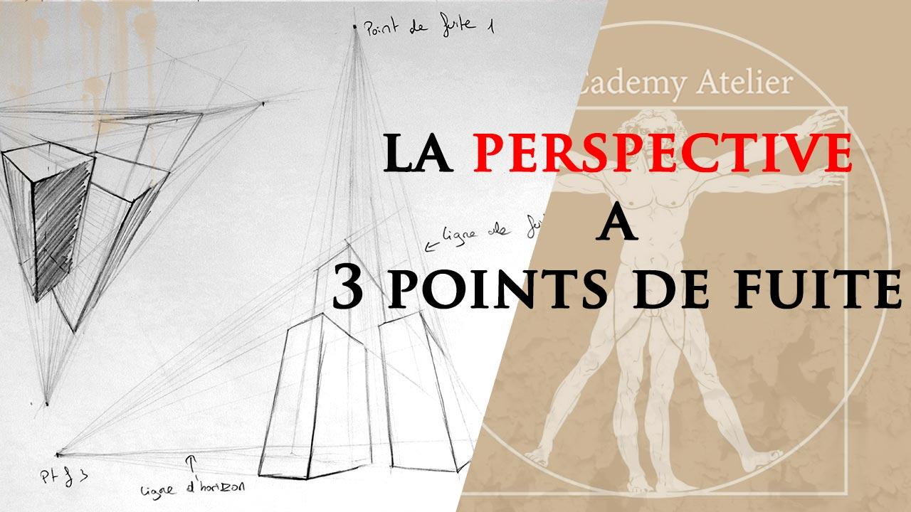 Comment dessiner la perspective à 3 points de fuite