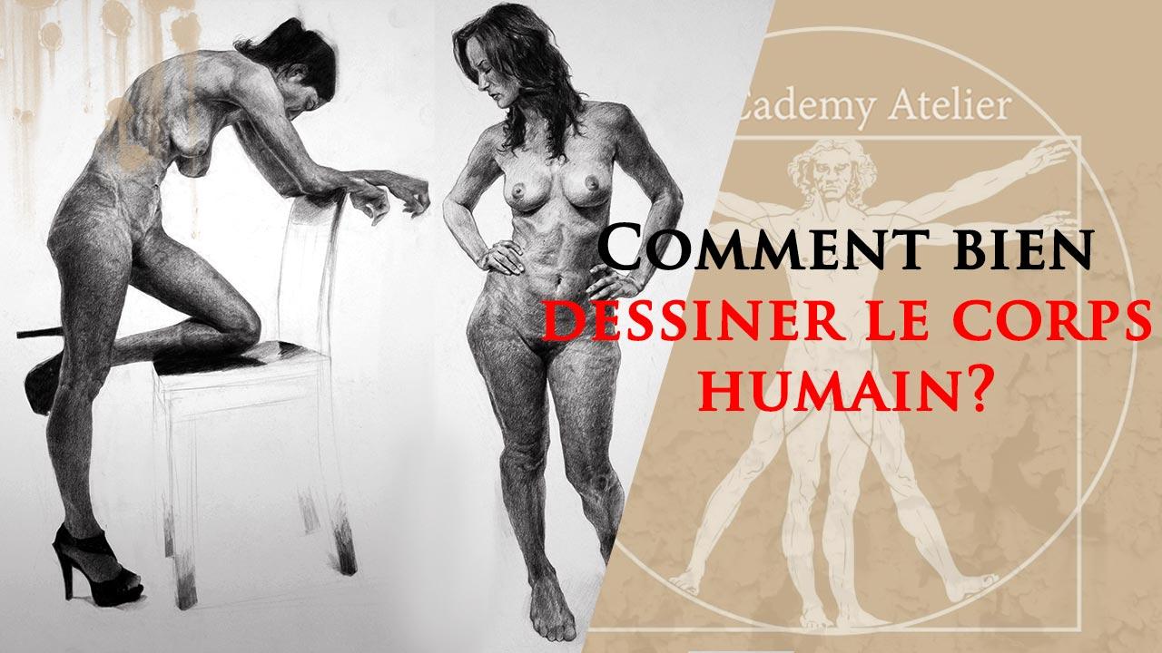 Comment dessiner le corps humain?